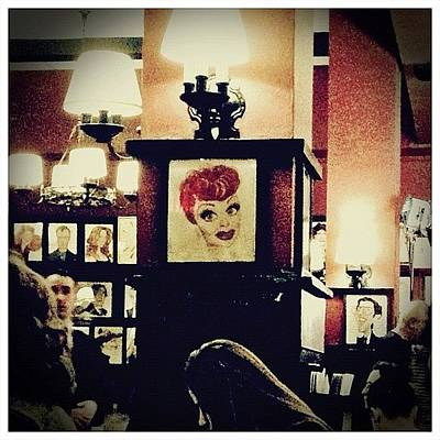 Restaurant Wall Art - Photograph - Lucille Ball by Natasha Marco
