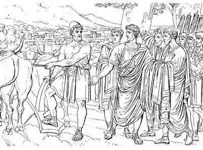 Lucius Cincinnatus Art Print by Granger