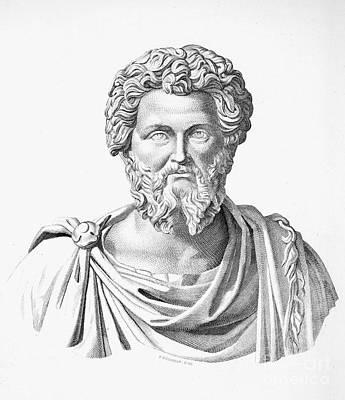 Lucius Septimius Severus Art Print by Granger