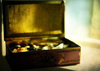 Treasure Box Photograph - Luck Be A Lady by Rebecca Sherman