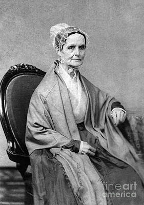 Lucretia Coffin Mott, American Activist Art Print by Photo Researchers