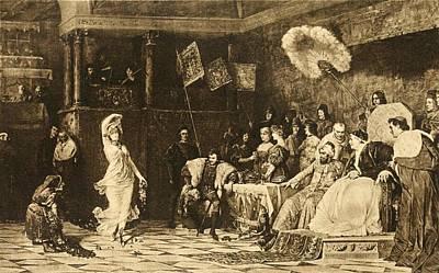 Borgia Photograph - Lucrezia Borgia 1480-1519, Dancing by Everett