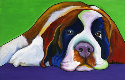 Painting - Lucy by Debbie Brown