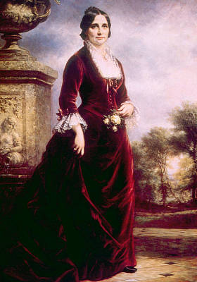Lucy Ware Webb Hayes 1831-1889, First Art Print by Everett