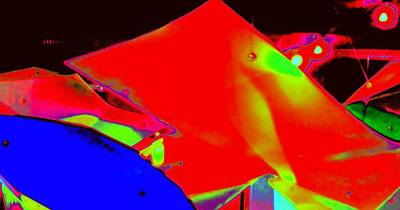 Luminescent Digital Art - Luluminous 3 by Randall Weidner