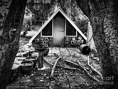 Photograph - Lumberjack Shack by Michael Canning