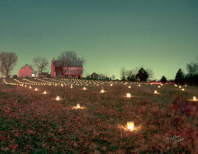 Photograph - Luminaries In The Pasture 11 by Judi Quelland