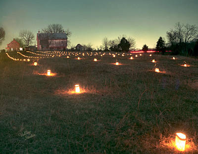 Photograph - Luminaries In The Pasture 2 - 11 by Judi Quelland