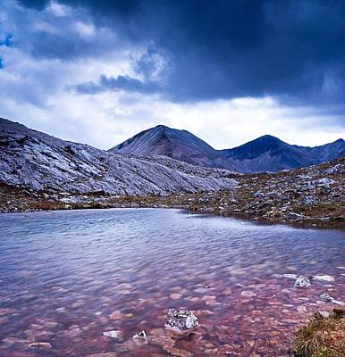 Torridon Wall Art - Photograph - Lunar Loch And Ben Eighe by Maciej Markiewicz