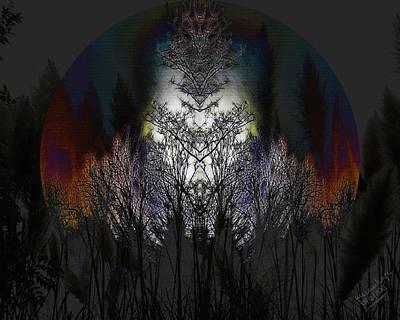 Luna Digital Art - Lunas Shrine by Mimulux patricia no No