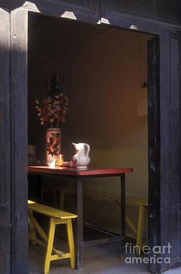 Photograph - Lunch Nook San Miguel De Allende Mexico by John  Mitchell