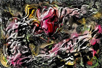 Multiple Personalities Digital Art - Lurch by Rufus Rafft