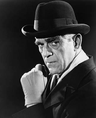 1947 Movies Photograph - Lured, Boris Karloff, 1947 by Everett