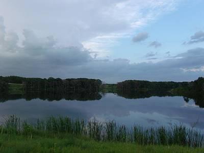 Lush Green Lake Original by Brian  Maloney