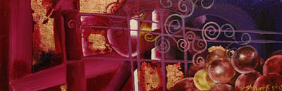 Painting - Lush II by Raquel Stallworth