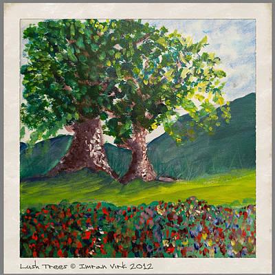 Lush Trees Original