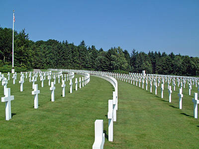 Luxembourg World War II American Cemetery  Art Print