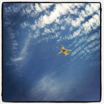 Airplane Photograph - Luxury Flight by Gwyn Newcombe