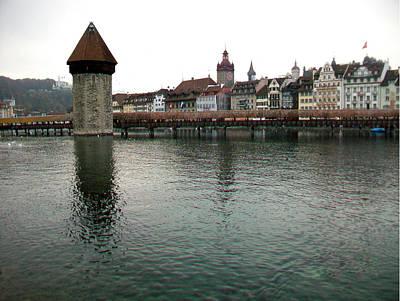 Photograph - Luzern-1 by Rezzan Erguvan-Onal