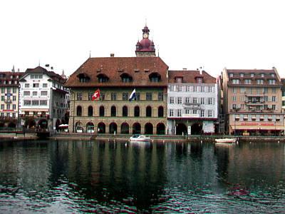 Photograph - Luzern-2 by Rezzan Erguvan-Onal