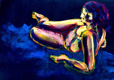 Painting - Lying Figure #5 by Alfredo Gonzalez