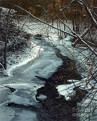Painting - Lynde Creek by Robert Hinves
