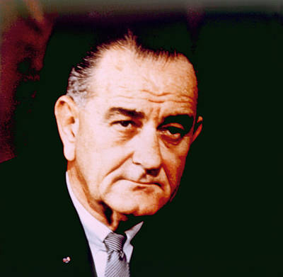 Lyndon B. Johnson 1908-1972, U.s Art Print by Everett