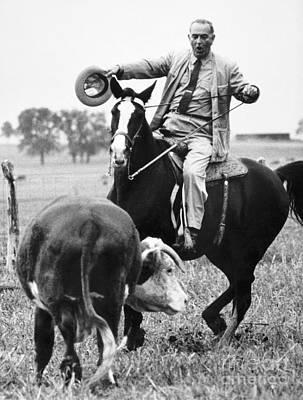 Photograph - Lyndon Baines Johnson by Granger
