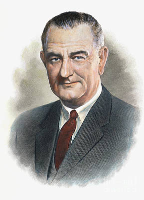Lyndon Photograph - Lyndon B.johnson (1908-1973) by Granger