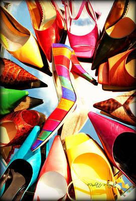 Photograph - M-m-m My Stilettos by Paulette B Wright