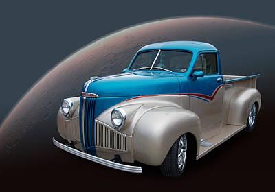 Automotive Art Series Wall Art - Photograph - M Series Studebaker by Bill Dutting