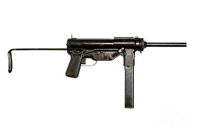 M3 Submachine Gun, 45 Caliber Art Print by Andrew Chittock