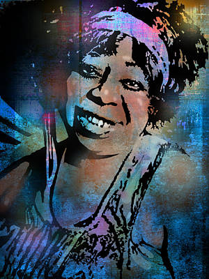 Painting - Ma Rainey by Paul Sachtleben