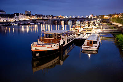 Maastricht Photograph - Maastricht Jetty On Maas River by Marc Garrido