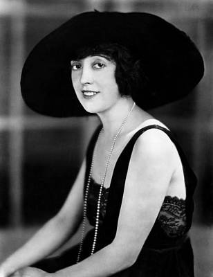 Mabel Normand, 1921 Art Print by Everett