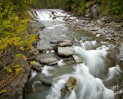 Photograph - Macdonald Creek by Idaho Scenic Images Linda Lantzy