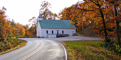 Photograph - Macedonia Church In The Fall by Duane McCullough
