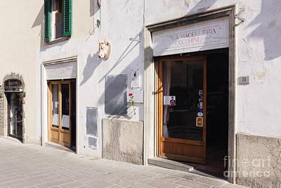 Italian Deli Photograph - Macelleria by Jeremy Woodhouse