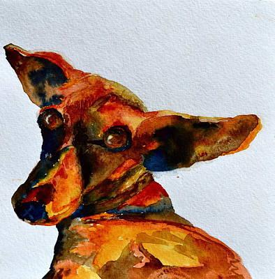 Macey Art Print by Beverley Harper Tinsley