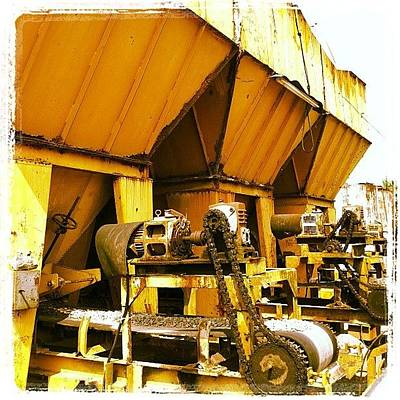Machine Photograph - #machine #grinder #crusher by Remy Asmara