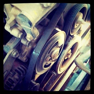 Machine Photograph - #machine #iphone #instagram #iphonesia by Remy Asmara