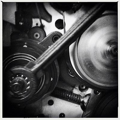 Gears Photograph - Machine by Richard Harris