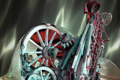 Digital Art - Machinery 3 by Helga Schmitt