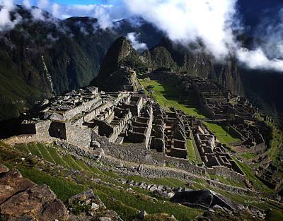 Photograph - Machu Picchu Peru 1 by Xueling Zou
