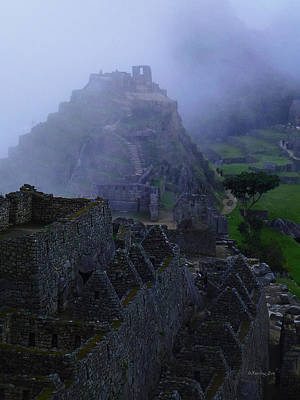 Photograph - Machu Picchu Peru 10 by Xueling Zou