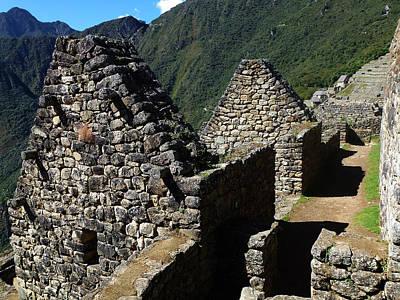 Photograph - Machu Picchu Peru 8 by Xueling Zou