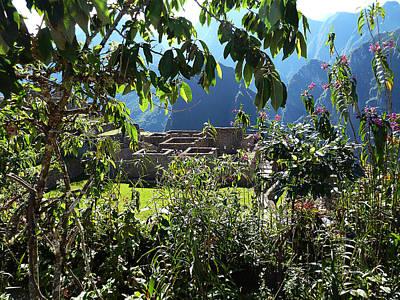 Photograph - Machu Picchu Peru 9 by Xueling Zou