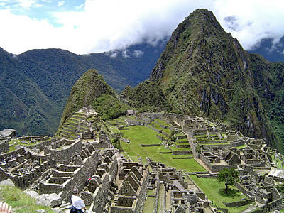 Archaelogy Photograph - Machu Picchu The Lost City Of The Incas by Jessica Estrada