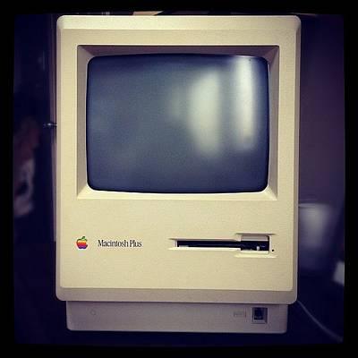Plus Photograph - Macintosh by Eric Scott