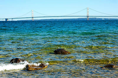 Photograph - Mackinac On The Rocks by LeeAnn McLaneGoetz McLaneGoetzStudioLLCcom